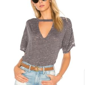 Free people Jordan distressed tee